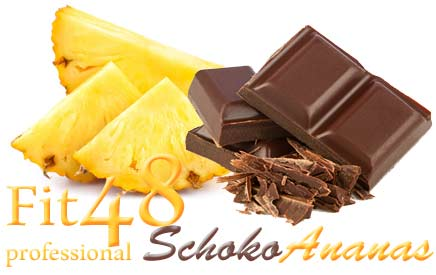 Fit48 professional Schoko-Ananas - eine Monatseinheit