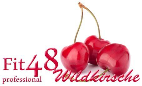 Fit48 professional Wildkirsche -  halbe Monatseinheit